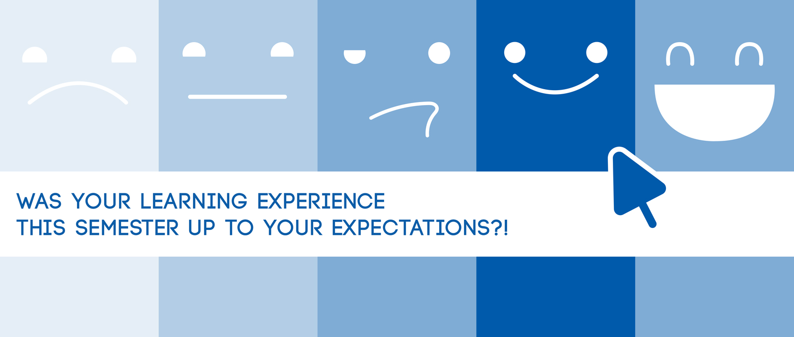 Was your learning experience this semester up to your expectations?